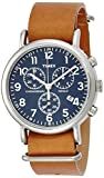 Timex Women's Quartz Watch with Chronograph Quartz Leather TW2P62300