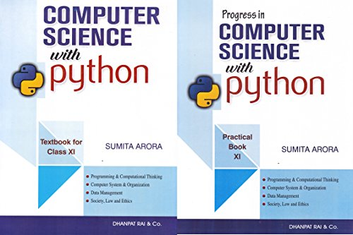 Computer Science with Python Specimen Copy Textbook for Class 11 (2018-2019) Session