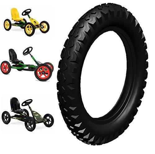 4 Stück Berg Go Kart Reifen Cross 12.5x2.25 Ersatzteil zu Buddy Junior 42.26.12.22 Crossprofil John Deere u. Jeep Wrangler