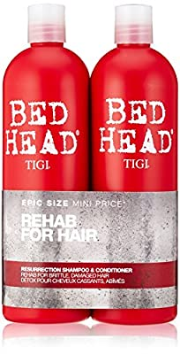 BED HEAD by TIGI Urban Antidotes Resurrection Tween Duo Shampoo & Conditioner for Very Dry, Hair 2x750 ml produced by TIGI - quick delivery from UK.