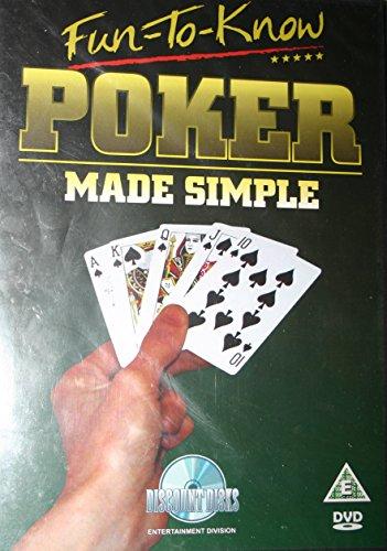 Poker Made Simple DVD Disk Learn Poker Poker Made Simple