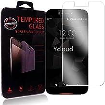 Ycloud Protector de Pantalla para UMI Iron / Iron Pro Cristal Vidrio Templado Premium [9H Dureza][Alta Definicion]