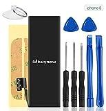 Best IPhone 5 baterías de repuesto - Mbuynow Batería del iPhone 5,Kit de Reparación Completo Review
