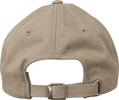 Flexfit Peached Cotton Twill Dad Cap Unisex Kappe für Damen und Herren, Stoff mit speziellem Peached Finish loden