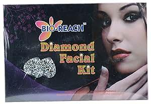 Bio-Reach Diamond Facial Kit (Cleanser, Scrub, Cream, Gel, Pack), 500 gms