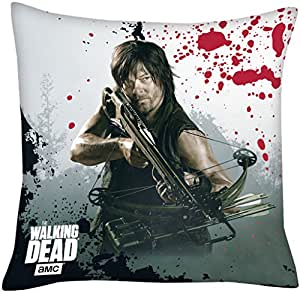 The walking dead daryl dixon coussin 40 x 40 cm