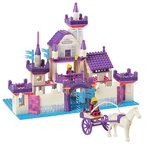 Ausini - Juego de construcción Castillo de Princesas - 368 piezas (ColorBaby 40757)