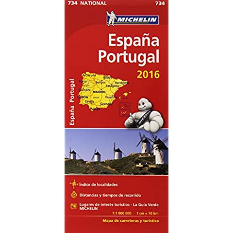 Mapa National España & Portugal (Mapas National Michelin)