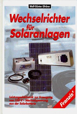 Wechselrichter für Solaranlagen