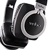 Veho VEP-008-Z8 360 Designer Aluminium Kopfhörer mit knotenfreiem Kabelsystem und faltbarem