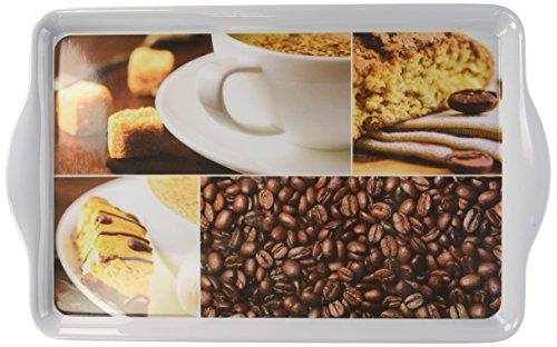 Kesper Tablett'Kaffee' 39x24cm Melamin