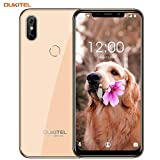 SIM-Free Mobile Phones,OUKITEL C13 Pro 4G Android 9.0 Unlocked Smartphone 6.18 Inch (19:9 Display) Quad-core 1.5Ghz 2GB+16GB Smartphone