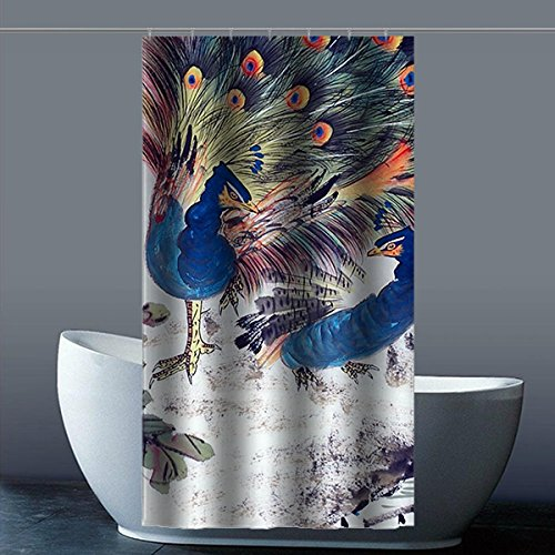 custom-peacock-tenda-doccia-in-tessuto-di-poliestere-impermeabile-per-bagno-36-x-1829-cm-circa-90-cm
