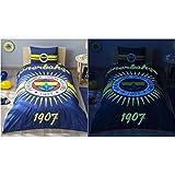 Leuchtende Bettwäsche Set Fenerbahce Fenerbahçe Istanbul Nevresim Takımı NEU! ORIGINAL!