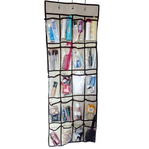 Ordnungssystem für die Tür, hängend, mit 20 Taschen, (Farblich Sortiert) -