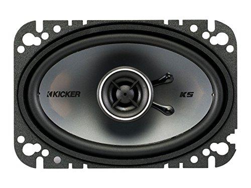 4 - 4x6 Zoll (10x16cm) Oval Koax Lautsprecher (6x4 Lautsprecher Kicker)