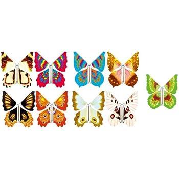 Papillon VOLANT pour carte de voeux Farce et attappe Magie: Amazon.fr: Sports et Loisirs