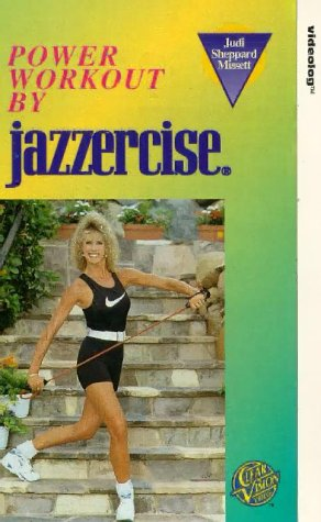 jazzercise-power-workout-vhs-uk-import