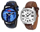 X5 FUSION MEN'S WATCH COMBO DOTS JEANS A...