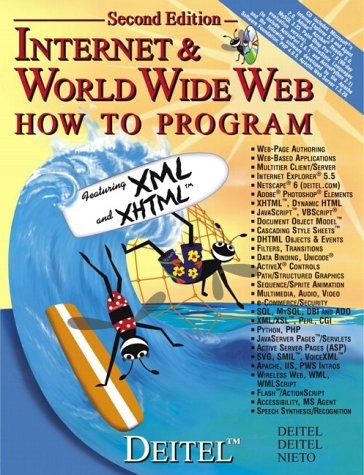 Internet and the World Wide Web (Book with CD)
