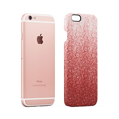 Pink Ombre Trippy Water Custodia Posteriore Sottile In Plastica Rigida Cover Per iPhone 6 & iPhone 6s Slim Fit Hard Case Cover Rose Gold Paint