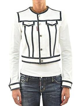 Dsquared2 Donna GIUBBINO in Jeans Nuovo in Pelle