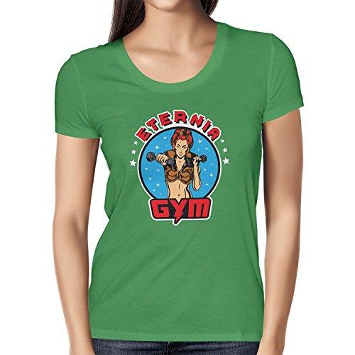 Texlab Lady Fitness Gym - Damen T-Shirt Grün