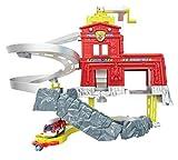 Mattel W5882 - Matchbox Cliffhanger Feuerwache Spielset