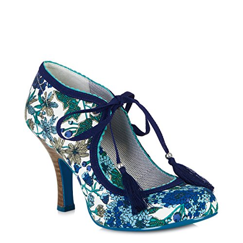 Ruby Shoo , Escarpins pour femme bleu/blanc