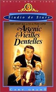 Arsenic & vieilles dentelles - DVD + livre du tournage [VHS]