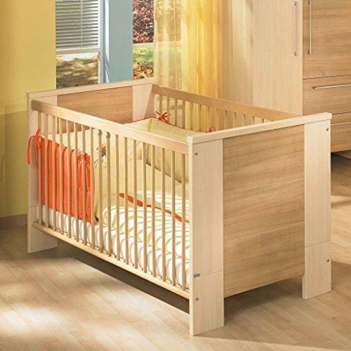 Preisvergleich Produktbild Paidi 1139146 Kinderbett Bruno mit Airwell Comfort Rost, 70 x 140 cm, softbirne/kirsche natur