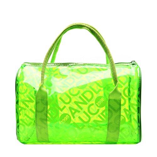 Donalworld , Damen Henkeltasche Grün Grünlicher Farbton (Grün-legere Handtasche)