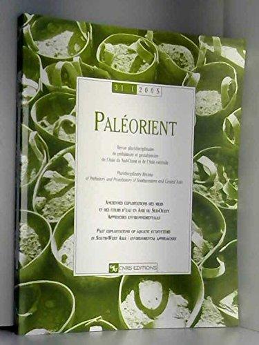 Paléorient 31.1