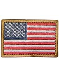 CONDOR 230-004 USA Flag Velcro Patch Red/White/Blue (6 Pcs)