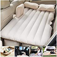 Car Travel Bed 138 * 85 * 45Cm SUV Air Mattresses Car Inflatable Travel Bed for Camping Children Rear Double A