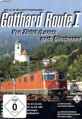 gotthard-route-i-cd-rom-von-zurich-luzern-nach-goschenen-add-on-fur-microsoft-trainsimulator-fur-win
