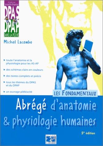 Abrégé d'anatomie & physiologie humaines