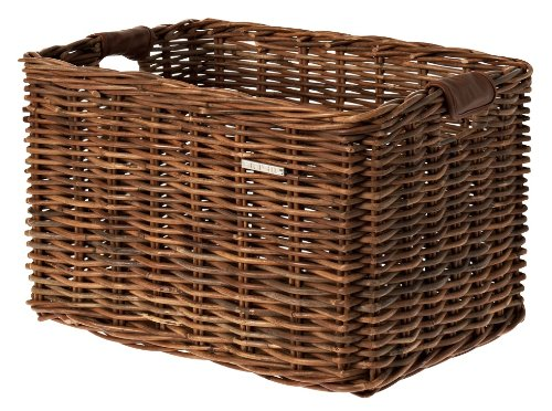 Basil Dorset Panier de vélo Mixte Adulte, Nature Brown, Grand