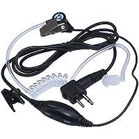 Arama FBI Covert Air tubo Auricolare per Motorola Radio 2 vie Cuffie con PTT / VOX e microfono (B201VM01)