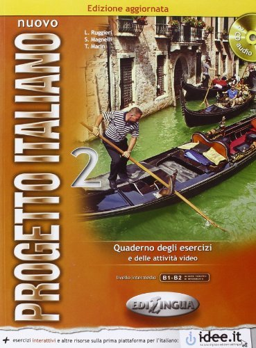 Nuovo Progetto Italiano: New Ed Quarderno Degli Esercizi 2 + Cd-audio (Level B1-b2) (Italian Edition) by L. RUGGIERI (2013-05-15)