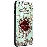 "Case88 Premium Designs Harry Potter & Hogwarts Collections Marauder's Map Carcasa/Funda dura para el Apple iPhone 6 4.7"" (No Plus 5.5"" !)"