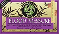 Triple Leaf Tea, Tea Bags, Blood Pressure, 1.4-Ounce Bags, 20-Count Boxes (Pack of 6)