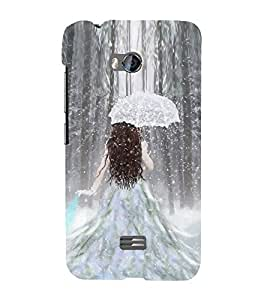 Fuson Designer Back Case Cover for Micromax Bolt Q336 (Cute girl Beautiful Girl Stunning Pretty Lovely)