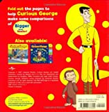 Curious George Bigger and Smaller [With Fold-Out Pages] (Curious George Board Books)