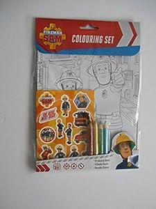 ¡Los muchachos amarán este colorante del bombero Sam y sistema de la etiqueta engomada! Incluye 8 hojas para colorear, 4 lápices gruesos y pegatinas reutilizables. Perfecto para mantener a los niños entretenidos mientras viaja o en casa. Ideal para u...