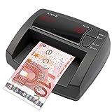 OLYMPIA NC 325 Automatisches Geldscheinprüfgerät – Updatebar – LCD-Display – Integrierter Geldzähler | Mobiler Geldscheinprüfer, Banknotenprüfer für Euro-Noten