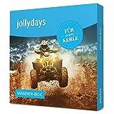 Jollydays Männer-Box | Gutschein für eines von über 400 Erlebnissen | Erlebnis-Geschenkbox | Geschenk für wahre Helden