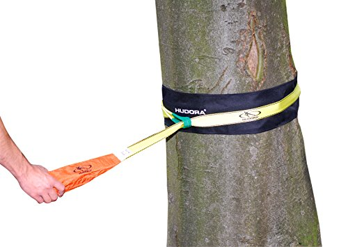 HUDORA Slackline-Set, 15 m lang, 3,8cm breit + Baumschutz - 2