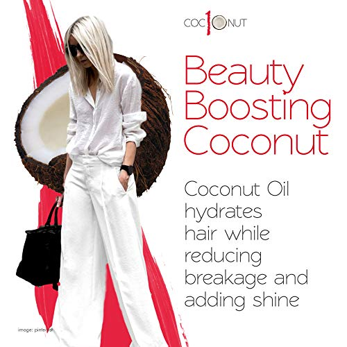 Zoom IMG-3 coconut heat protection spray leave