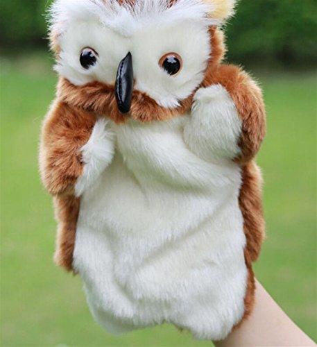 Speedmar Marionetas Dedo Muñecos Peluche búho Bebé